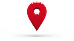 Imagen del icono de google maps que indica la ubicación de una dirección espesífica