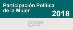 Participación política de  la mujer 2018